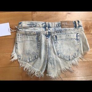 One Teaspoon Shorts - One Teaspoon Bonitas Shorts